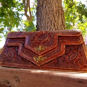 Art mex vintage purse